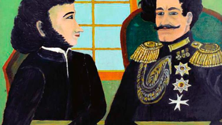 Пушкинские образы в творчестве наивных художников Оренбуржья